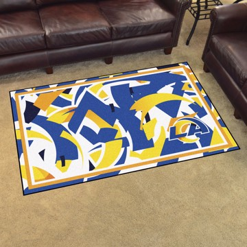Picture of NFL - Los Angeles Rams 4x6 Plush Rug