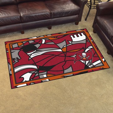 Picture of NFL - Tampa Bay Buccaneers 4x6 Plush Rug