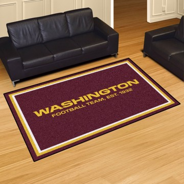 Picture of NFL - Washington Football Team 5'x8' Plush Rug