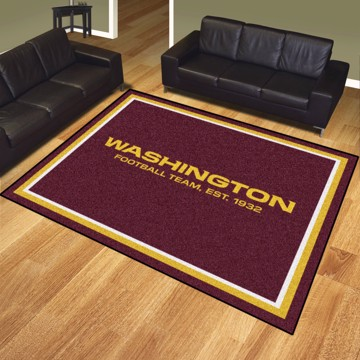 Picture of NFL - Washington Football Team 8'x10' Plush Rug