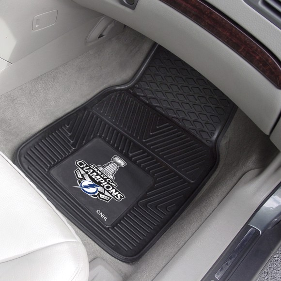 Picture of NHL - Tampa Bay Lightning 2020 Stanley Cup Champions Vinyl Car Mat Set