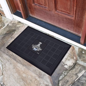 Picture of NHL - Tampa Bay Lightning 2020 Stanley Cup Champions Medallion Door Mat