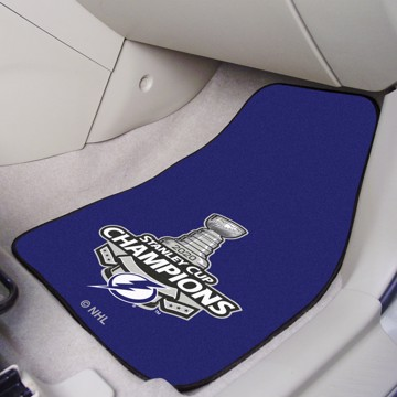 Picture of NHL - Tampa Bay Lightning 2020 Stanley Cup Champions Carpet Car Mat Set