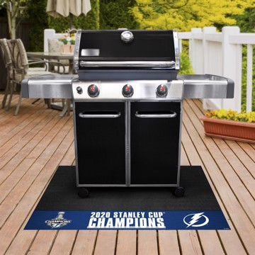 Picture of NHL - Tampa Bay Lightning 2020 Stanley Cup Champions Grill Mat
