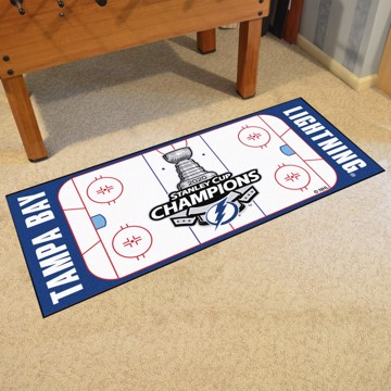 Picture of NHL - Tampa Bay Lightning 2020 Stanley Cup Champions Rink Runner
