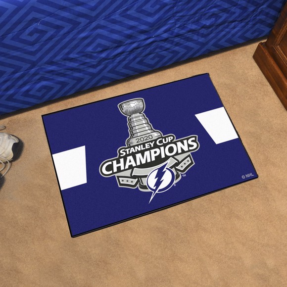 Picture of NHL - Tampa Bay Lightning 2020 Stanley Cup Champions Starter Mat