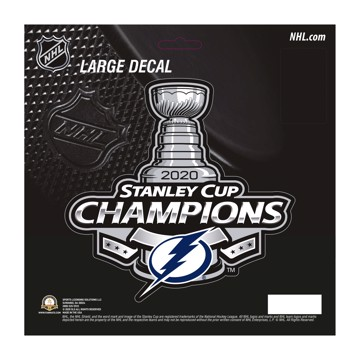 Picture of NHL - Tampa Bay Lightning 2020 Stanley Cup ChampionsLarge Decal