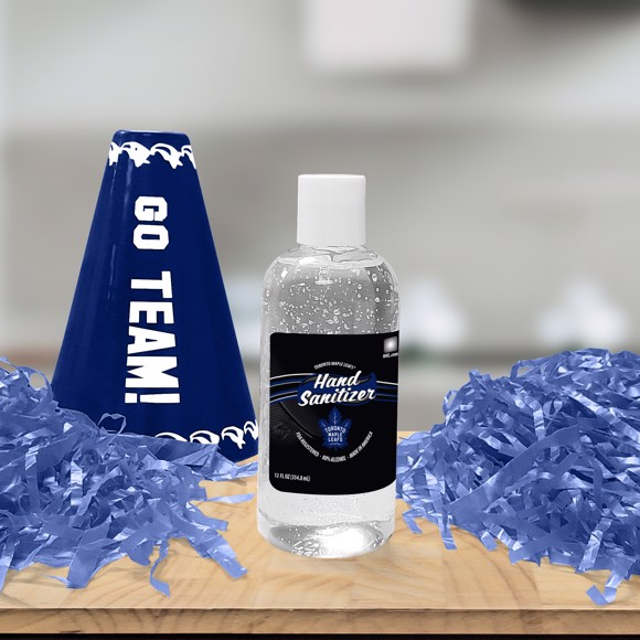 Picture of Toronto Maple Leafs 12 oz. Hand Sanitizer with Flip Cap - 4 PACK