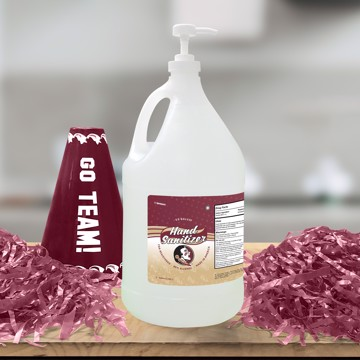 Picture of Florida State 1 Gallon Hand Sanitizer with Pump Top
