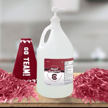 Picture of South Carolina 1-gallon Hand Sanitizer with Pump Top