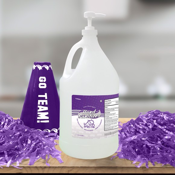 Picture of TCU 1 Gallon Hand Sanitizer with Pump Top