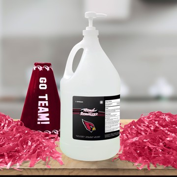 Picture of Arizona Cardinals 1-gallon Hand Sanitizer with Pump Top