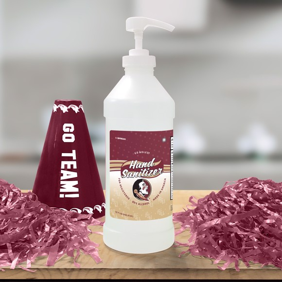 Picture of Florida State 32 oz. Hand Sanitizer with Pump Top - 4 PACK