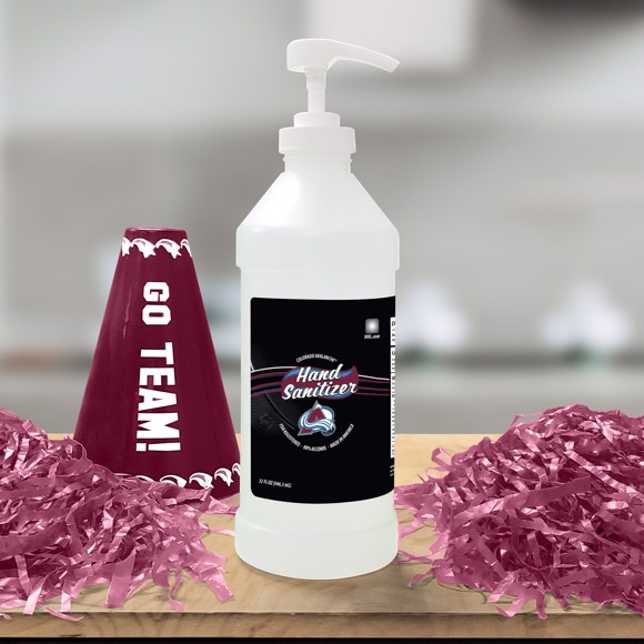 Picture of NHL - Colorado Avalanche 32 oz. Hand Sanitizer with Pump Top