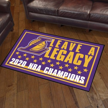 Picture of NBA - Los Angeles Lakers 2020 NBA Champions 3x5 Plush Rug