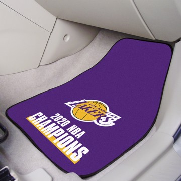 Picture of NBA - Los Angeles Lakers 2020 NBA Champions Carpet Car Mat Set