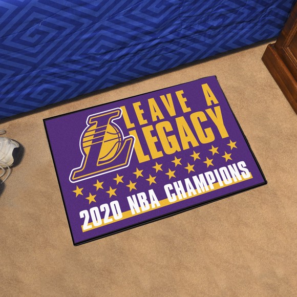 Picture of NBA - Los Angeles Lakers 2020 NBA Champions Starter Mat