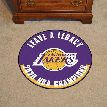 Picture of NBA - Los Angeles Lakers 2020 NBA Champions Roundel Mat