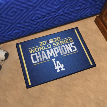 Picture of MLB - Los Angeles Dodgers 2020 World Series Champions Starter Mat