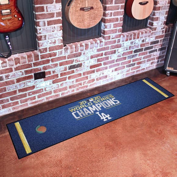 Picture of MLB - Los Angeles Dodgers 2020 World Series Champions Putting Green Mat