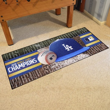 Picture of MLB - Los Angeles Dodgers 2020 World Series Champions Baseball Runner