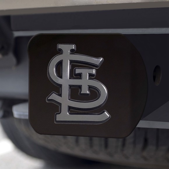 Picture of St. Louis Cardinals Black Hitch Cover