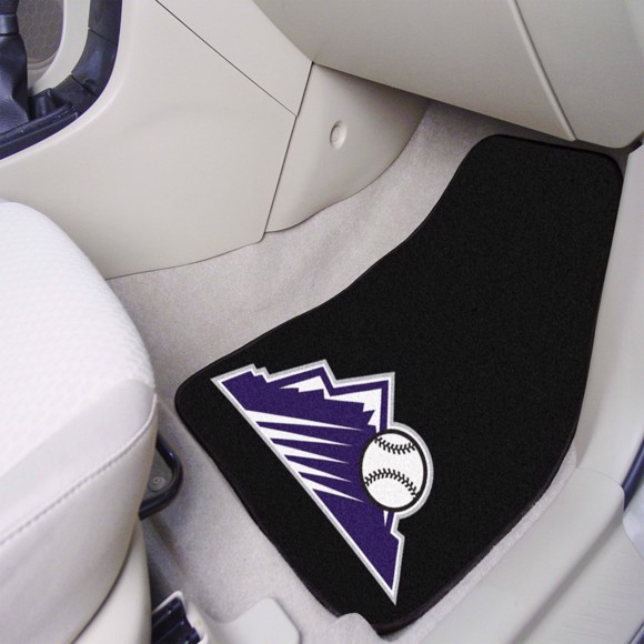 Picture of Colorado Rockies Carpet Car Mat Set