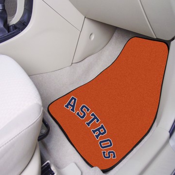Picture of Houston Astros Carpet Car Mat Set