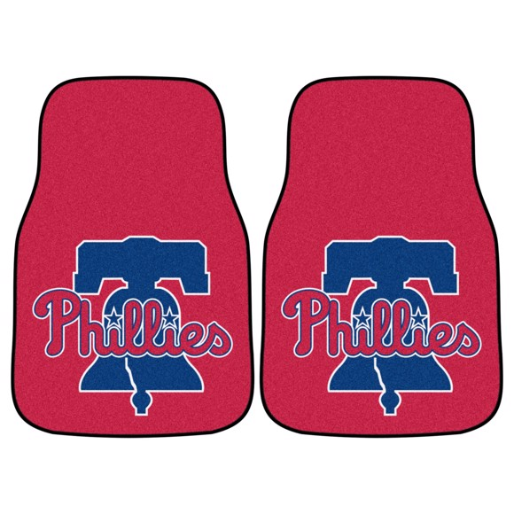 Picture of Philadelphia Phillies Carpet Car Mat Set
