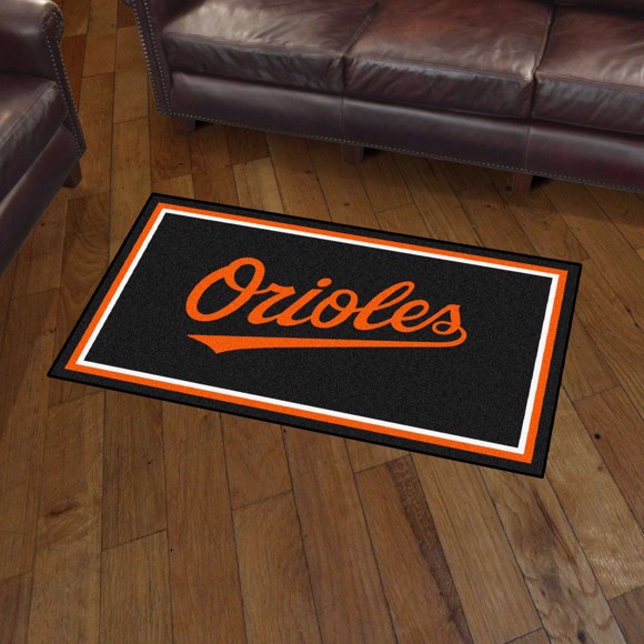 Picture of Baltimore Orioles 3x5 Plush Rug