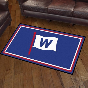Picture of Chicago Cubs 3x5 Plush Rug