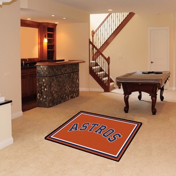 Picture of Houston Astros 4x6 Plush Rug