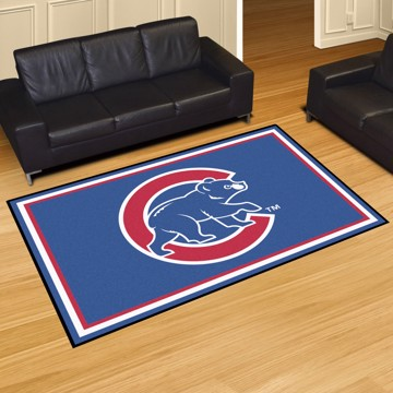 Picture of Chicago Cubs 5x8 Plush Rug