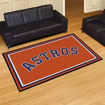 Picture of Houston Astros 5x8 Plush Rug
