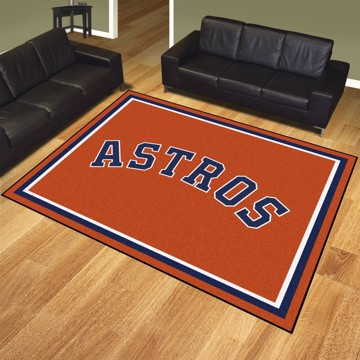 Picture of Houston Astros 8x10 Plush Rug