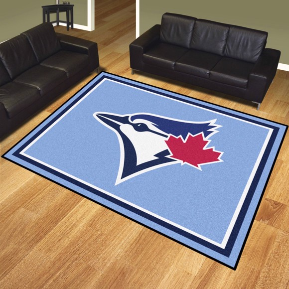 Picture of Toronto Blue Jays 8x10 Plush Rug