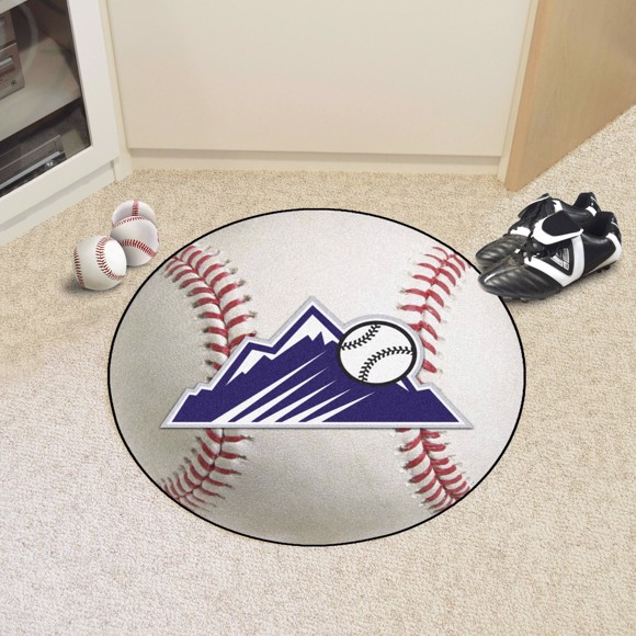 Picture of Colorado Rockies Baseball Mat