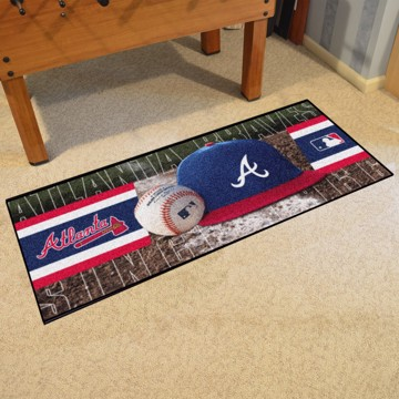 Picture of Atlanta Braves Baseball Runner
