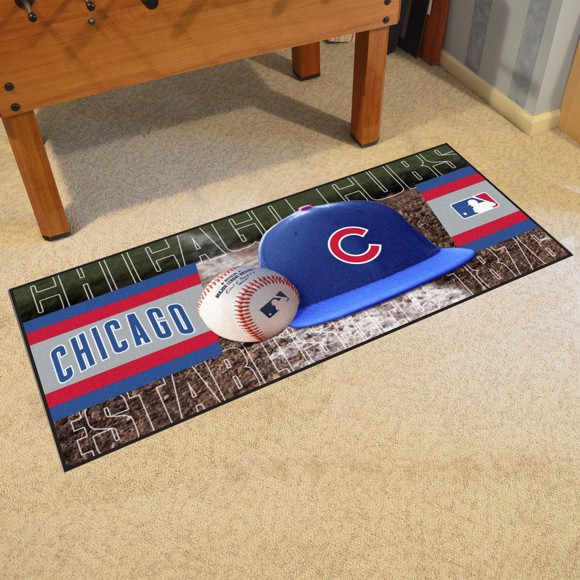 Picture of Chicago Cubs Baseball Runner