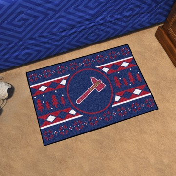 Picture of Atlanta Braves Holiday Sweater Starter Mat