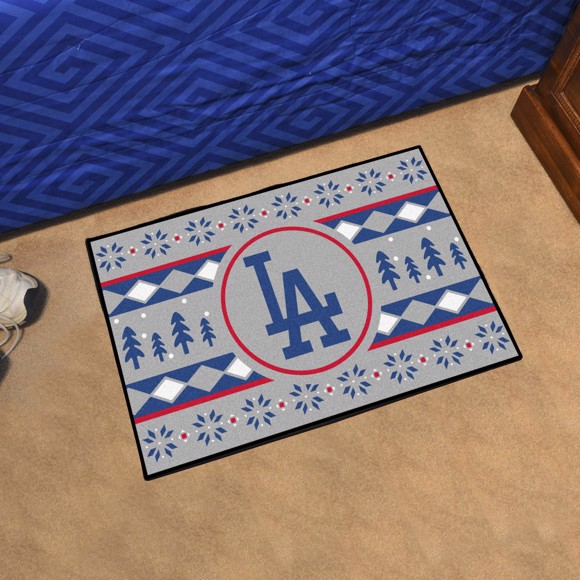 Picture of Los Angeles Dodgers Holiday Sweater Starter Mat