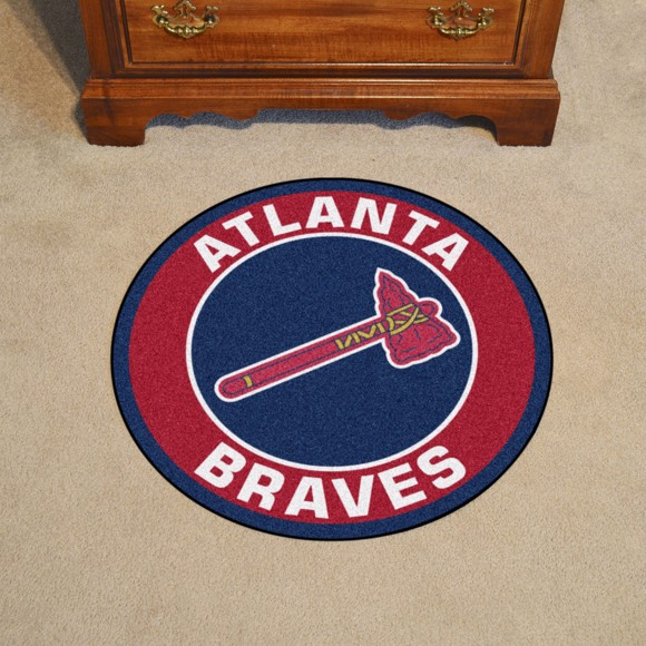 Picture of Atlanta Braves Roundel Mat