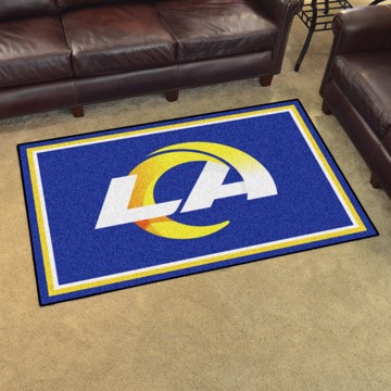 Picture of NFL - Los Angeles Rams 5'x8' Plush Rug