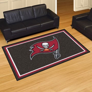 Picture of NFL - Tampa Bay Buccaneers 5'x8' Plush Rug