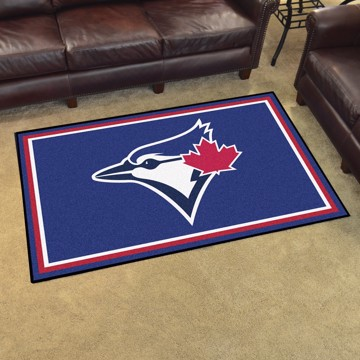 Picture of MLB - Toronto Blue Jays 4'x6' Plush Rug