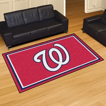 Picture of MLB - Washington Nationals 4'x6' Plush Rug