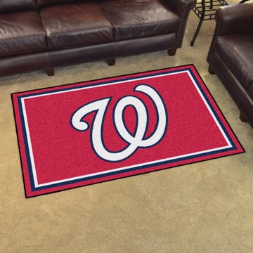 Picture of MLB - Washington Nationals 5'x8' Plush Rug