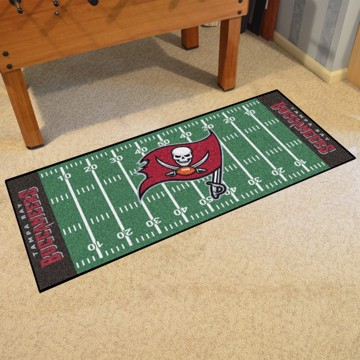 Picture of NFL - Tampa Bay Buccaneers Football Field Runner