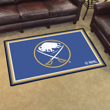 Picture of NHL - Buffalo Sabres 4'x6' Plush Rug