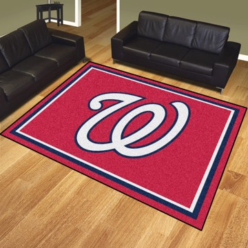Picture of MLB - Washington Nationals 8'x10' Plush Rug